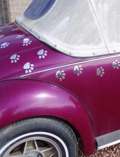 My Car Paws, Paw Stickers, Car Decals, My Car Fashion
